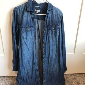 Target jean dress